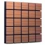 Купить акустическая панель ecosound tetras rosewood 50x50см 73мм цвет коричневый по низкой цене